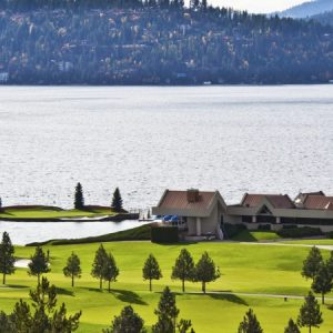 View of Lake Coeur d'Alene